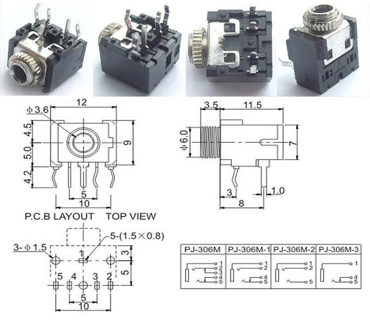 Dorable 3 5 Stereo Jack Wiring Diagram Adornment - Schematic Diagram ...